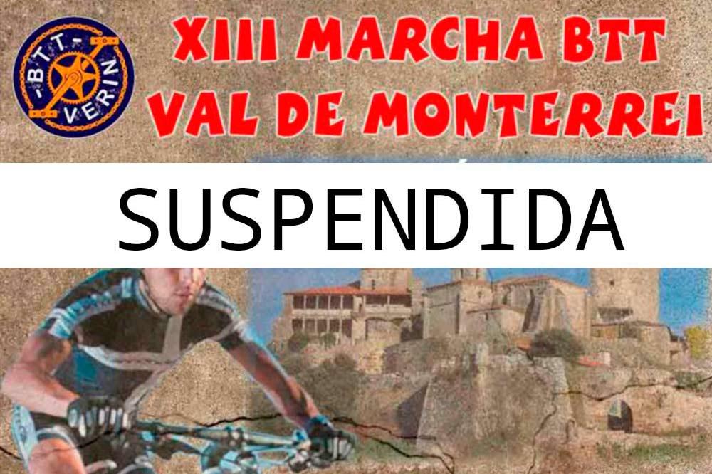 XIII MARCHA VAL DE MONTERREI – SUSPENDIDA
