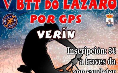 V BTT DO LÁZARO POR GPS
