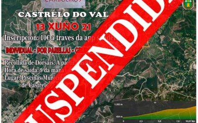SUSPENDIDA – Cronoescalada MTB Castrelo do Val